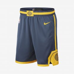 Golden State Warriors City Edition Swingman Men's Nike NBA Shorts. Nike.com AU