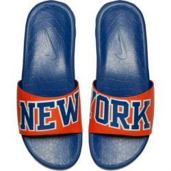 Nike Benassi Solarsoft Slide – Knicks – Kickz101
