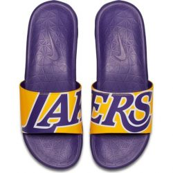 Nike Benassi Solarsoft Slide – Lakers – Kickz101