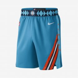 Oklahoma City Thunder City Edition Swingman Men's Nike NBA Shorts. Nike.com AU