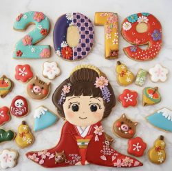 2019 Japanese girl cookies