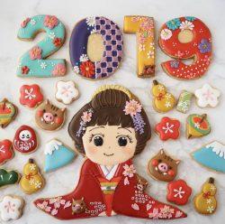 2019 Japanese girl cookies