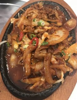Sura Korean BBQ – Chilli Pork