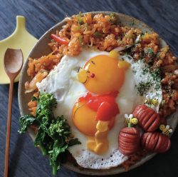 Vinny the Pooh fried rice 🍛