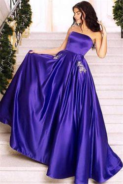 Schlichte Abendkleider Lang Günstig | Elegante Abendmoden Online