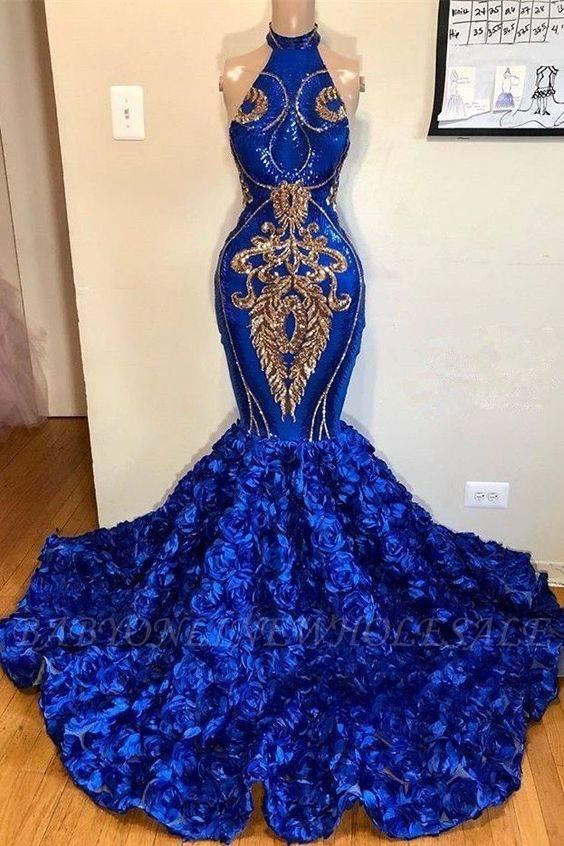 Luxus Abendkleider Lang König Blau | Abiballkleider Günstig Online