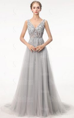 Grey Wedding Dresses for 2019 Spring Wedding
