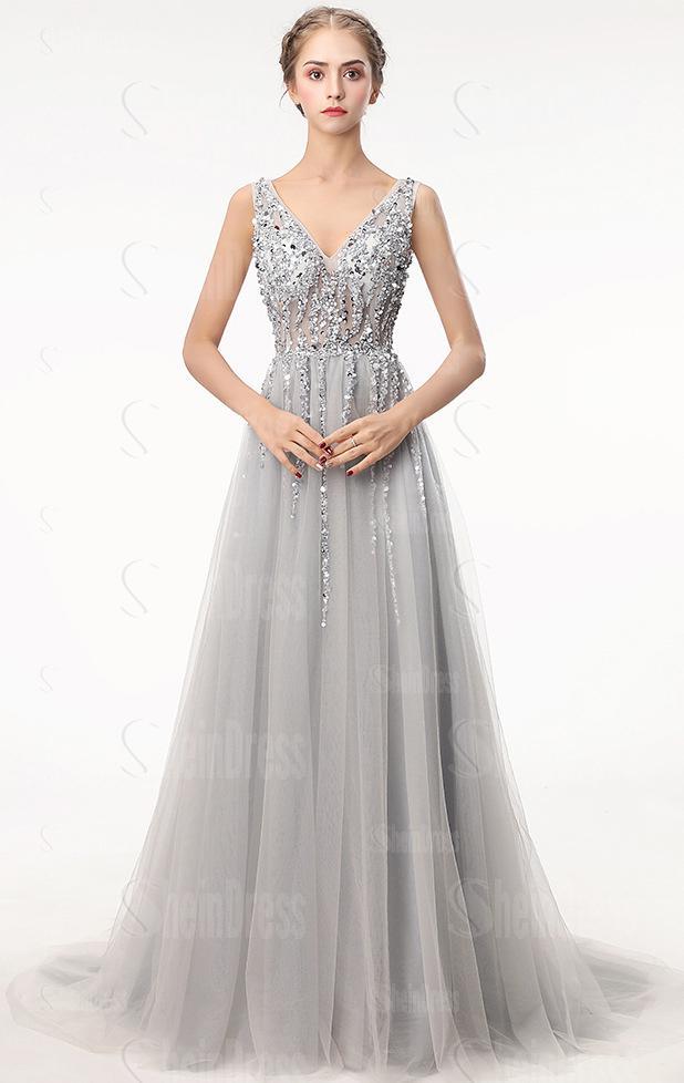 Grey Wedding Dresses for 2019 Spring Wedding