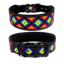 Adjustable Reflective Pet Collar Big Dogs Soft Foam Padded Collar