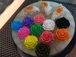 Longan Jelly Cake
