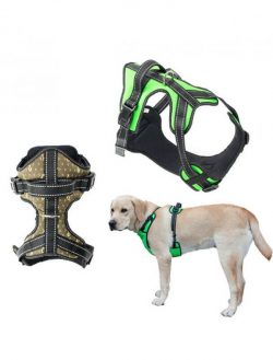 Large Dog Training Harness No Pull Pet Harness Adjustable Easy Control