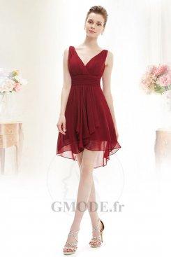 Vente robe demoiselle d'honneur pas cher pour femme adulte