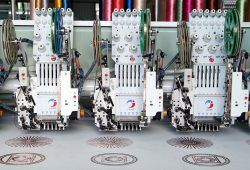 Spray Printing Embroidery Machine