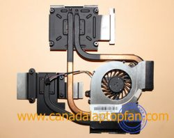 HP Pavilion DV6-6C50CA Laptop CPU Fan and Heatsink 650797-001 [HP Pavilion DV6-6C50CA Laptop] &# ...