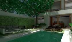3 Bedroom Luxury Seminyak Villa with Private Pool at Petitenget, Bali