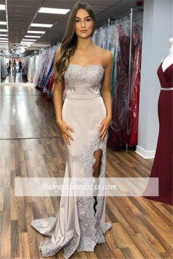 Elegante Abendkleider Lang Günstig | Abiballkleider mit Spitze