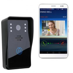 WiFi Remote Video Camera Door Phone Rainproof Intercom Doorbell Night IR