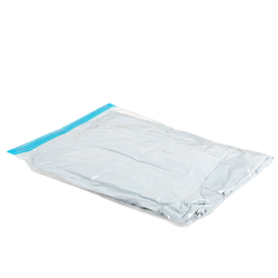 Hand roll vacuum compression bag