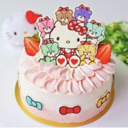 Hello Kitty Cake 😮🥰