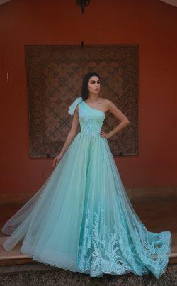 Grüne Abendkleider mit Spitze | Abendmoden Online Kaufen