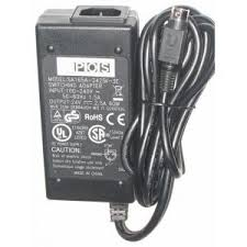 New 24V 2.5A 60W SA165A-2425V-3E AC Adapter Power Supply 3pin for POS